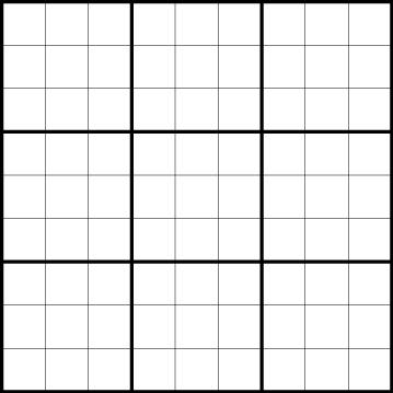 sudoku grids - Towerssconstruction