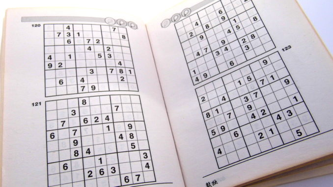 Archive Puzzles \u2013 12 Hard Sudoku Puzzles 2 Per Page \u2013 Books 1 to 10