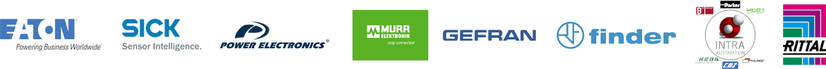 EATON SICK POWER ELECTRONICS MURR ELEKTRONIK GEFRAN INTRA RITTAL