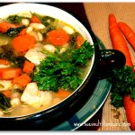 chicken bean soup 2