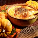 Roasted Pumpkin Red Pepper Soup Spiked With Coconut Oil