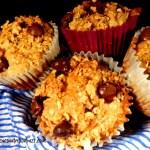 quinoa banana chocolate chip muffin