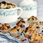 Coconut Cranberry Honey Nut Cookies