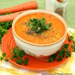 Carrot Ginger soup1
