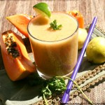 Guava Papaya Smoothie