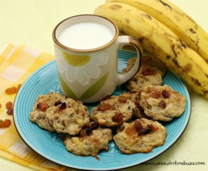 Banana Oatmeal Raisin Cookie