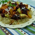 Sante Fe Roasted Veggies over Quinoa