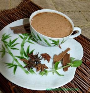 Coconut Milk Chai Latte