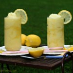 pineapple lemonade slushy