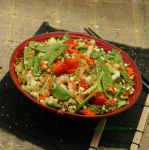 Sprouted Mung Asian Salad