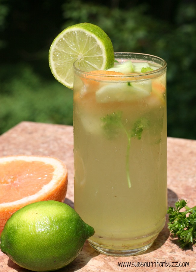 Fat Flush Grapefruit Cucumber Parsley Vitamin Water