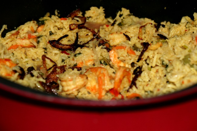 shrimp rice
