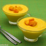 coconut cream Mango Mousse-9075
