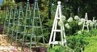 Making A Wooden Obelisks For Garden - Garden Design Ideas