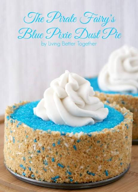 Disney, Walmart, The Pirate Fairy, #ProtectPixieHollow, #shop, #cbias, Blue Pixie Dust, Coconut, Yogurt, Cheesecake, Pie, Healthy