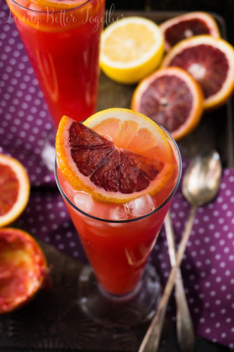 This Citrus Tango is a Gin & Blood Orange Cocktail that's sexy, fun ...