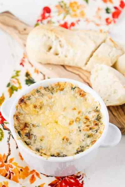 Baked Spicy Spinach Dip