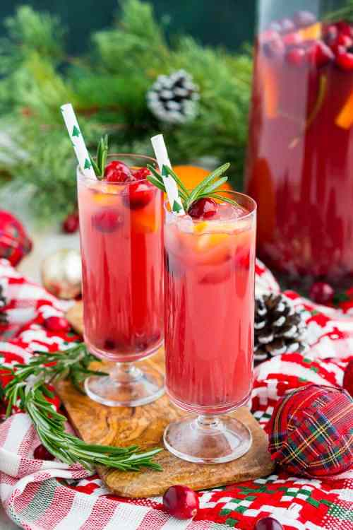 Pretty Lime Cranberry Juice Vodka Side Effects Delicious Holiday Party Drink Packed Withfruits Like Punch Recipe Or Sugar Soul Cranberry Juice Vodka Punch Is An Easy