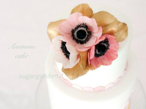 Anemone cake