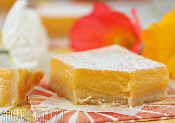 Passion Fruit Bars | SugarHero.com