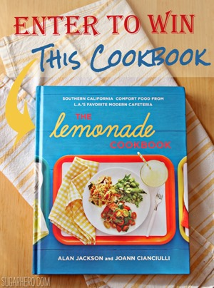 Lemonade Cookbook Giveaway | SugarHero.com