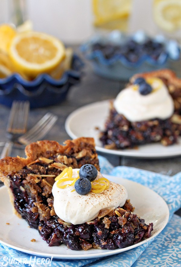 Blueberry Crumble Pie Recipe — Dishmaps