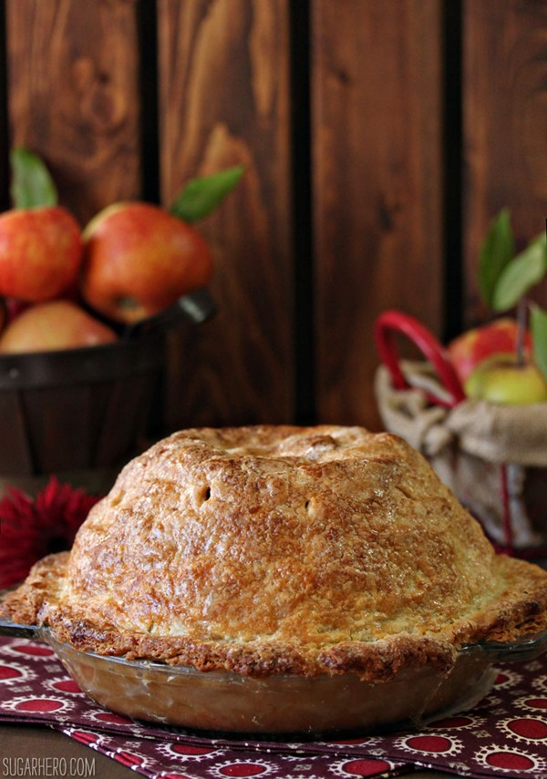 ... pie battle of crust vs filling, this Mile High Apple Pie is allllll