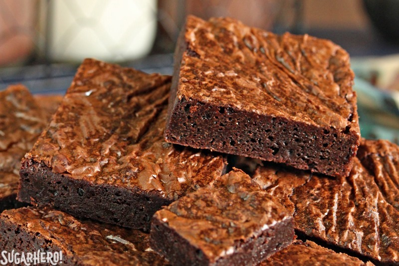 Ultimate Fudgy Chocolate Brownies Sugarhero