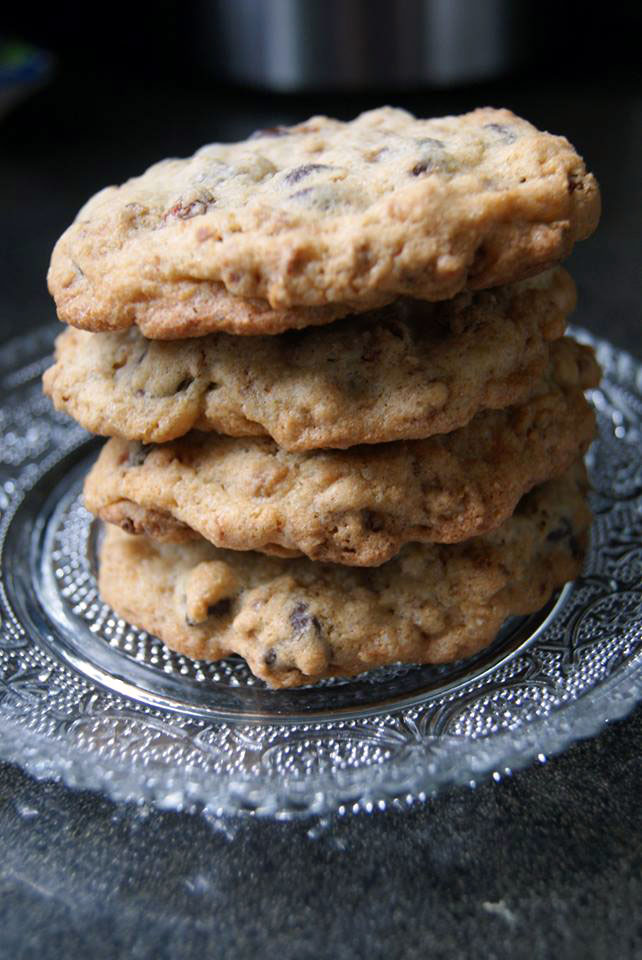 Cranberry Chocolate Chip Cookies Spices