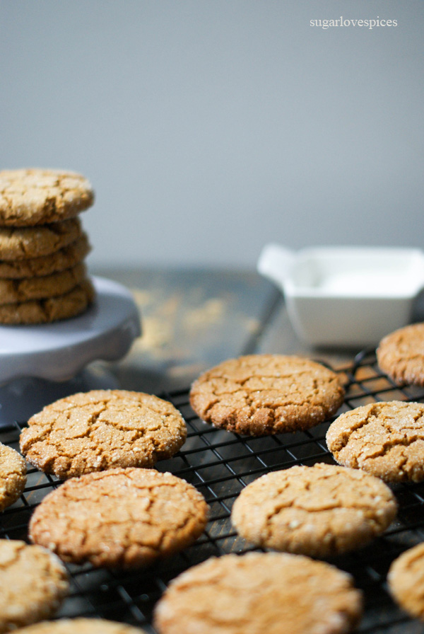 Gluten-free Ginger Molasses Cookies – SugarLoveSpices