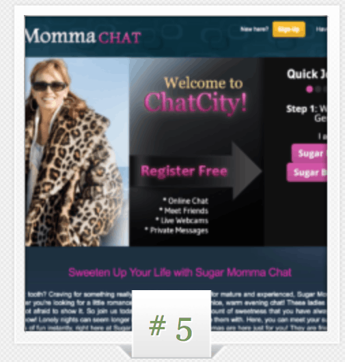 sugar momma websites for free
