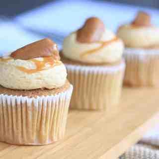 Salted Caramel Churros Cupcakes by Sugar Salt Magic