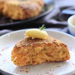 Rosemary Cheese Scones by Sugar Salt Magic