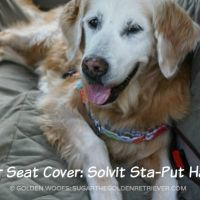 Dog Car Seat Cover: Solvit Sta-Put Hammock