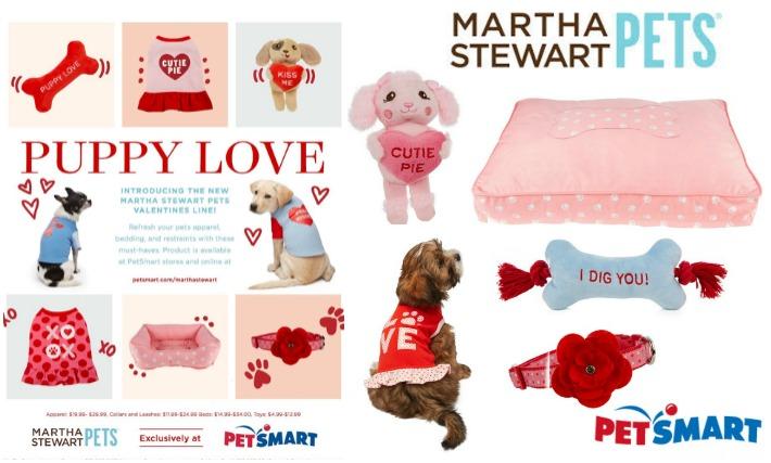 Last Minute Valentine's Day Dog Gifts #MarthaStewartPets