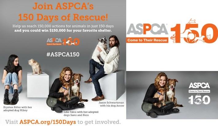 ASPCA 150 Days of Rescue #ASPCA150