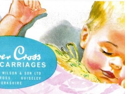 SilverCross Coachbuilt Pram Catalogue Vintage 1962