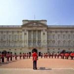 Buckingham Palace et les gardes