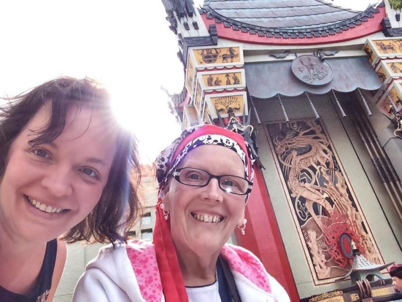 Celebrating with mom in Disney World!