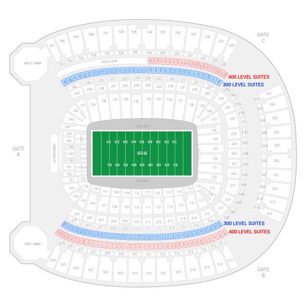 Pittsburgh Steelers Suite Rentals Heinz Field Suite Experience Group