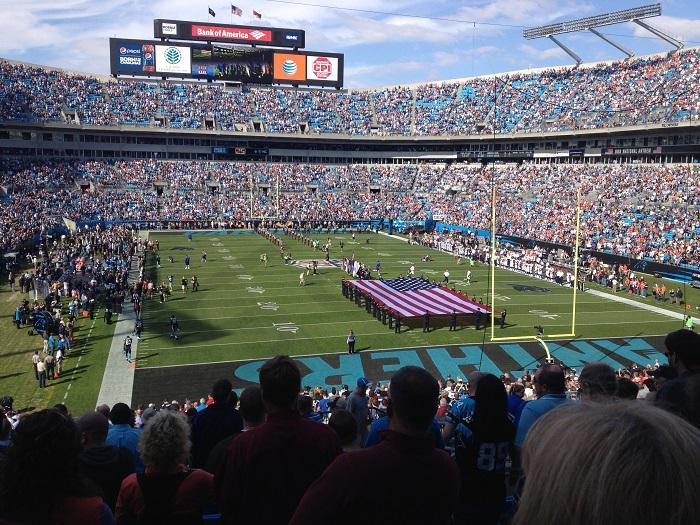 Carolina Panthers Suite Rentals Bank of America Stadium Suite