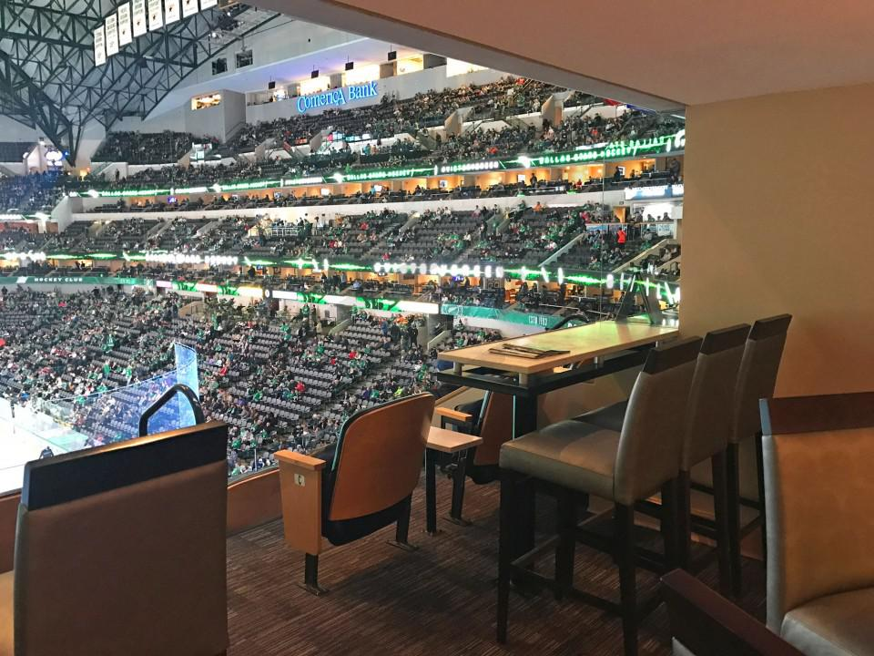 Dallas Mavericks Suite Rentals American Airlines Center