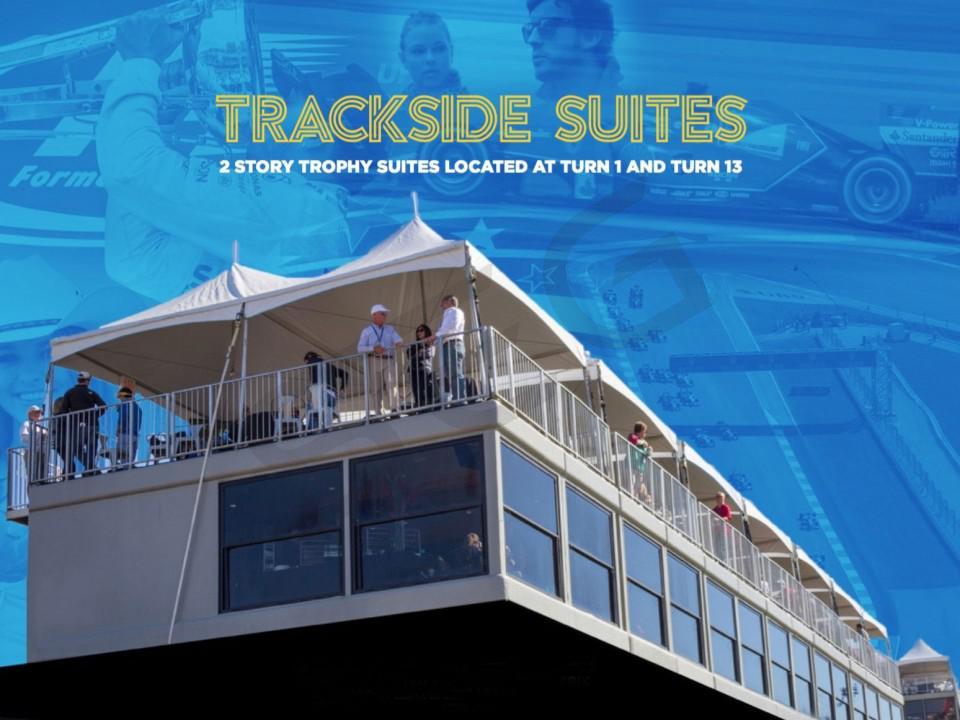 Formula 1 United States Grand Prix Suite Rentals Circuit of the