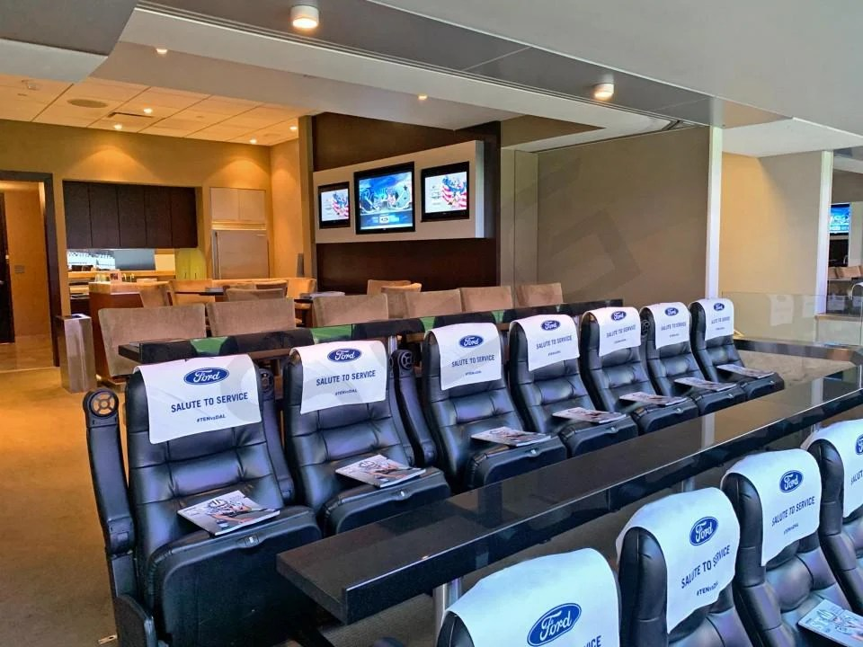 Cotton Bowl Classic Suite Rentals ATT Stadium