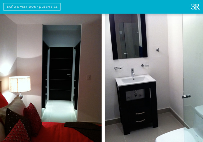 Baño y vestidor