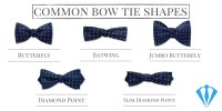 The Bow Tie Basics: Styles and Shapes Conundrum - Suits Expert
