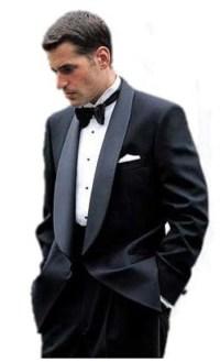 Grey tux black lapel, Grey tuxedo, black suits for men