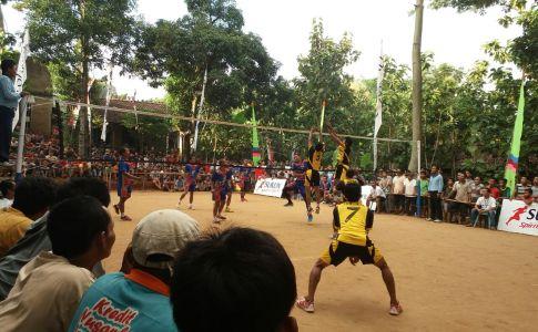 Salah satu turnamen bola voli yang didukung Sukun Spirit of Sport