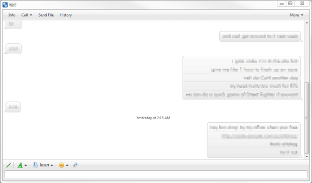 Trillian IM Chat Demo
