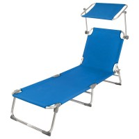 folding chaise lounge-with 5 reclining positions